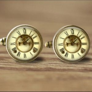 Other - Time Clock Novelty Cuff Links